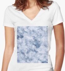 Abstract #৩ Women's Fitted V-Neck T-Shirt