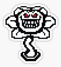 Undertale - Evil Flowey Sticker