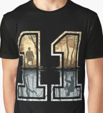 Stranger Things 11 Logo Graphic T-Shirt
