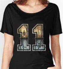 Stranger Things 11 Logo Women's Relaxed Fit T-Shirt