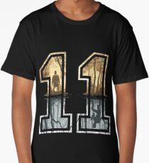 Stranger Things 11 Logo Long T-Shirt
