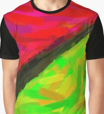 Modern Abstract Color Combination No 9 Graphic T-Shirt