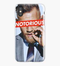 Conor McGregor NOTORIOUS iPhone Case/Skin
