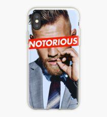 Conor McGregor NOTORIOUS iPhone Case