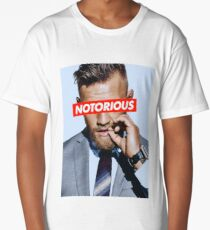Conor McGregor NOTORIOUS Long T-Shirt