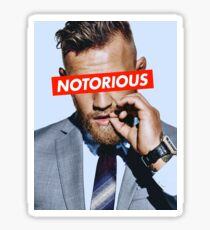 Conor McGregor NOTORIOUS Sticker