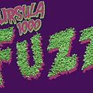 Ursula 1000: Fuzz (Logo) by brianhillDESIGN