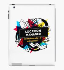 LOCATION MANAGER iPad Case/Skin