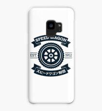 SPW - Speed Wagon Foundation [Navy] Case/Skin for Samsung Galaxy