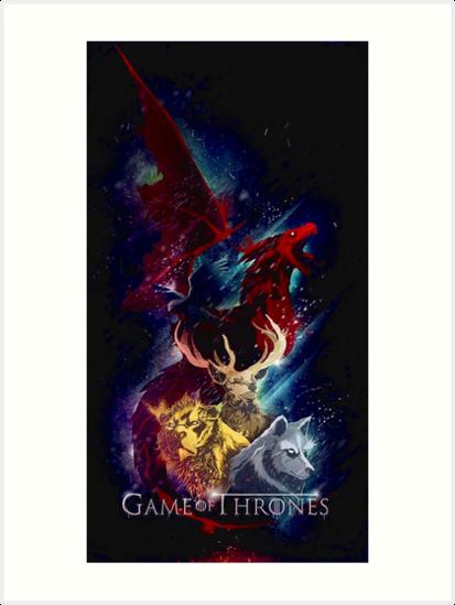 «Dragón de los tronos seriales» de Nametha Russle