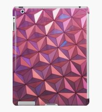 Disney World Spaceship Earth Pattern iPad Case/Skin