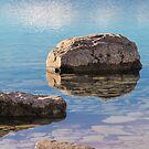 Lake Tekapo - glatte Reflexion von B-Shirts