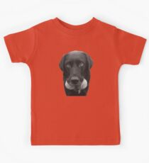 Cute dog with tennis balls Kids Clothes