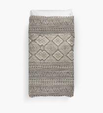 Black Carpet Duvet Cover