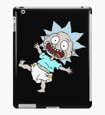 Pickle Rick iPad Case/Skin