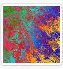 Spray Paint Pattern Texture Design Sticker