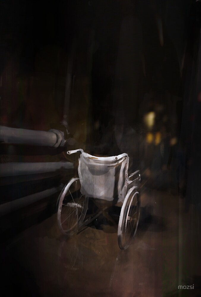 Wheelchair by mozsi