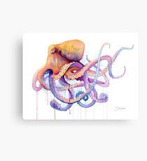 Lámina metálica Octopus II