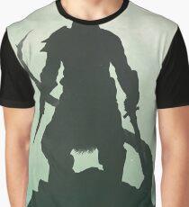 Skyrim DragonBorn Poster Graphic T-Shirt