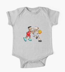 Basketball player - cartoon style Kids Clothes