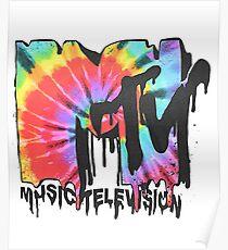 MTV Tie Dye Poster
