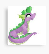 Spike the Dragon Canvas Print