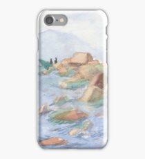 Big stones on the Baikal iPhone Case/Skin
