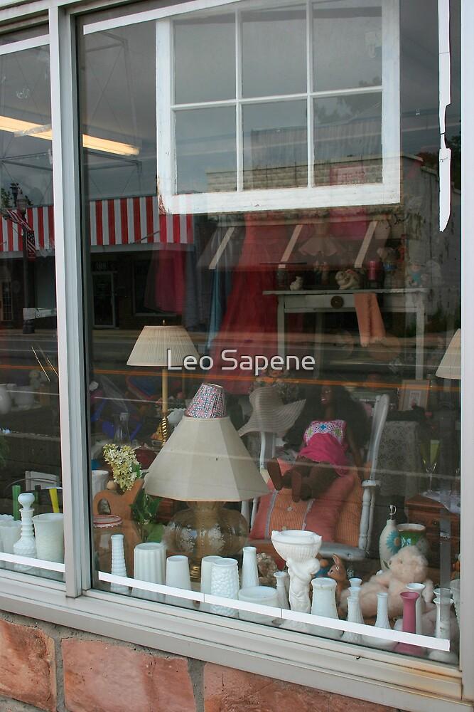 Window shopping by Leo Sapene