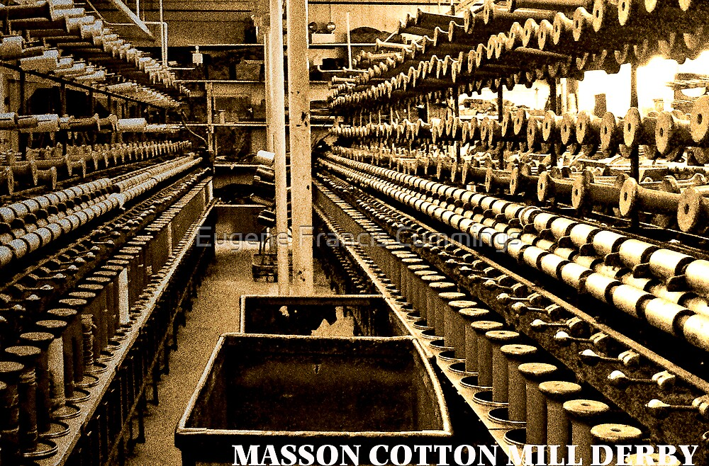 Masson Cotton Mill Derby England by Eugene Francis Cummings