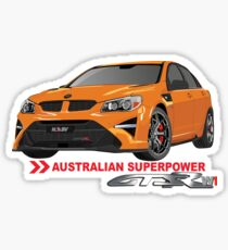 HSV GTSR W1 - AUSTRALIAN SUPERPOWER Sticker
