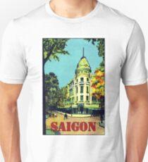 Saigon, Ho Chi Minh City, Vietnam,vintage travel poster T-Shirt