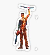Chainsaw Hero Sticker