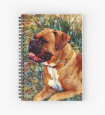 For the Love of a Boxer Spiral Notebook
