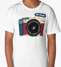 Oh Snap!  Long T-Shirt