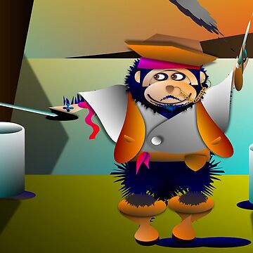 primate pirate by tart57