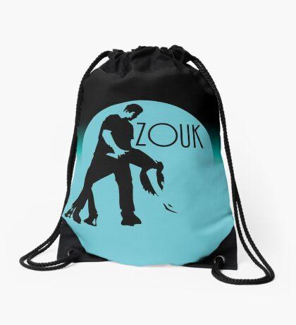 ZOUK - blue moon Drawstring Bag