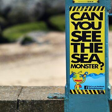 sea monster by seldom