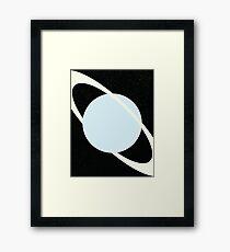 Rings of Uranus Framed Print