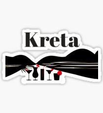 Crete island Sticker