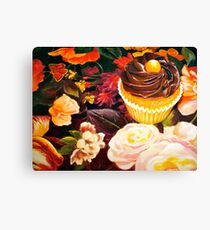 Cupcakes and Butterflies Canvas Print