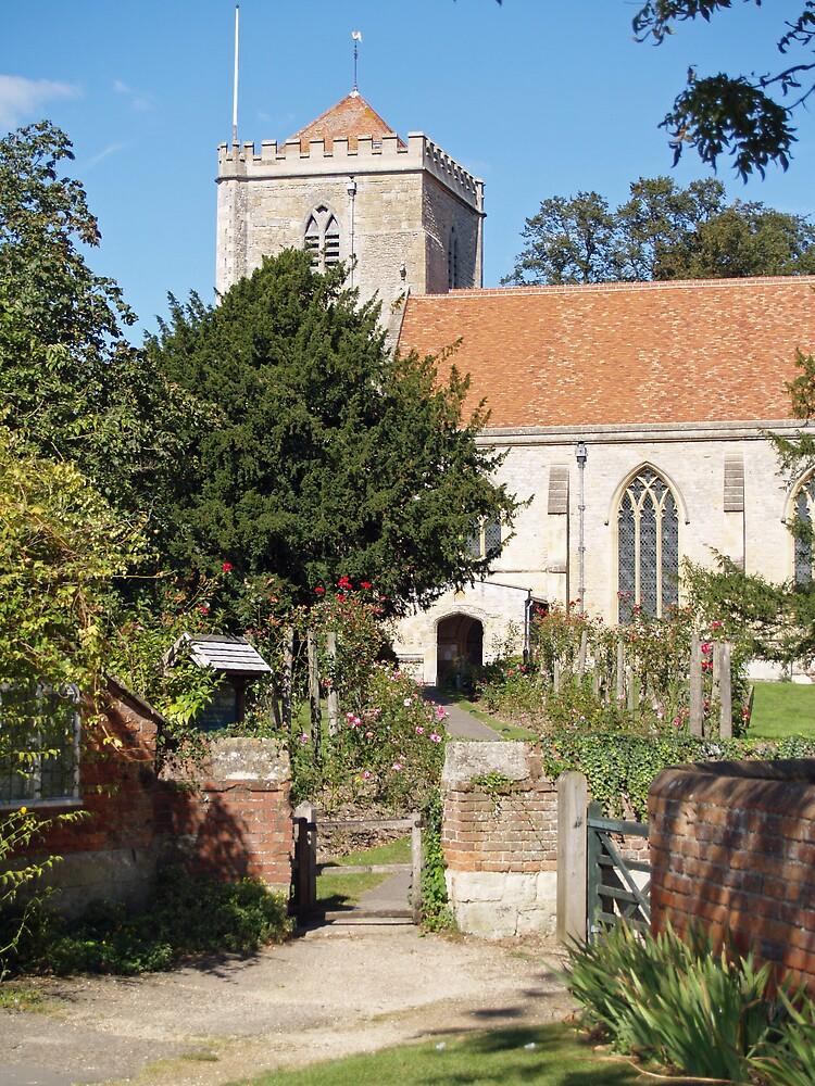 Dorchester Abbey, Oxfordshire, England by Jack McCallum