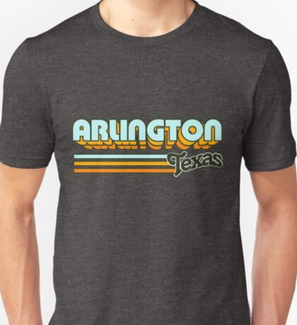 Arlington, TX   City Stripes T-Shirt