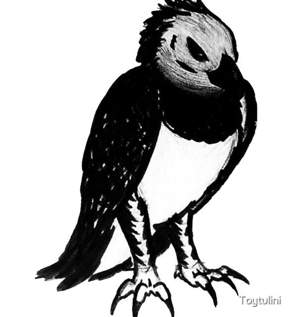 Harpy Eagle by Toytulini