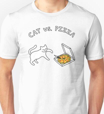 CAT vs. PIZZA T-Shirt