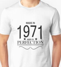 Made in 1971 Aged To Perfection T-Shirt