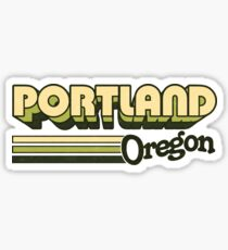 Portland, OR | City Stripes Sticker