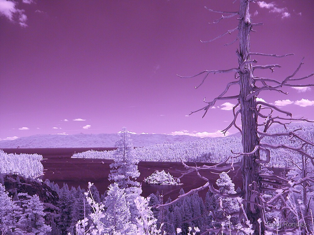 IR Emerald Bay by Gary Rondez