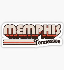 Memphis, TN | City Stripes Sticker