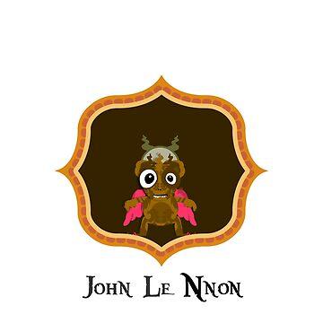 Music Monster - John Le Nnon  by Graf
