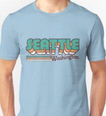 Camiseta unisex Seattle, WA | Rayas de la ciudad